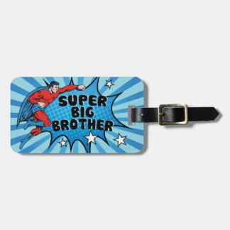 Superhero Becoming a Big Brother Bag Tag