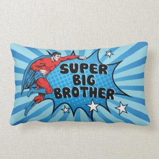 Superhero Becoming a Big Brother Lumbar Pillow