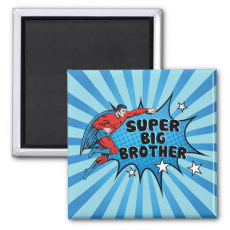 Superhero Becoming a Big Brother Magnet