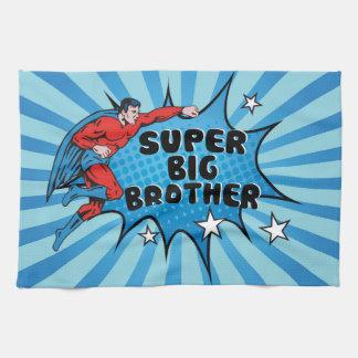 Superhero Becoming a Big Brother Towel