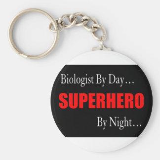 Superhero Biologist Keychain