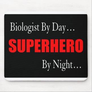 Superhero Biologist Mouse Pad