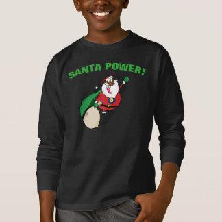 Superhero Black Santa Power Shirt