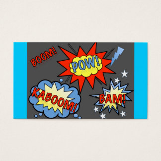 Superhero Business Card