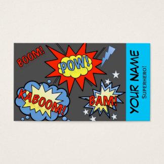 Superhero Business Card 2