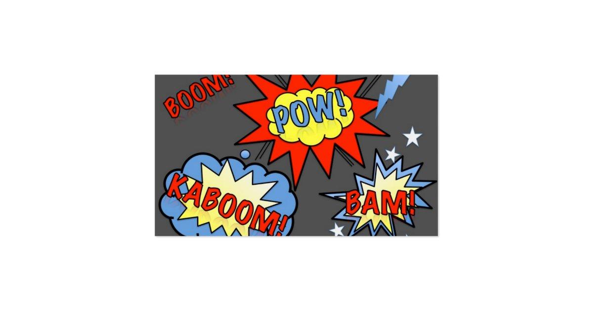 Superhero business card 3 zazzle for Superhero business cards
