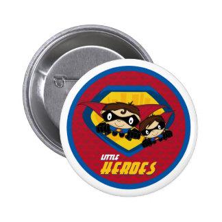 Superhero Button Badge