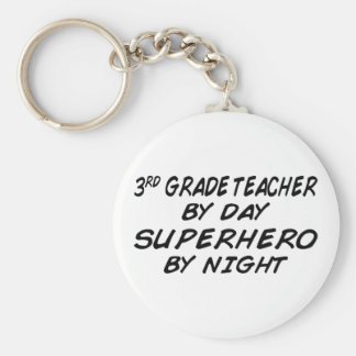 Superhero by Night - 3rd Grade Key Chains
