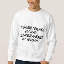Superhero by Night - 3rd Grade Sweatshirt