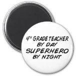 Superhero by Night - 4th Grade Refrigerator Magnets