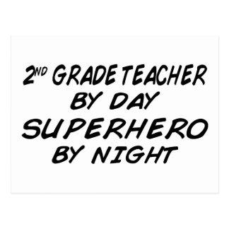 Superhero by Night Postcard