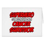 Superhero...Cancer Survivor Card