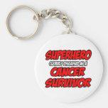 Superhero...Cancer Survivor Keychains