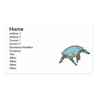 superhero clam business card