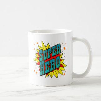 SuperHero Classic White Coffee Mug