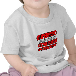 Superhero .. Computer Scientist Shirts