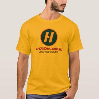 Superhero Costume - with custom monogram T-Shirt