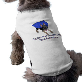 SuperHero Doggie Ringer T-Shirt