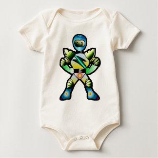 Superhero Duke Quantum Baby Bodysuit