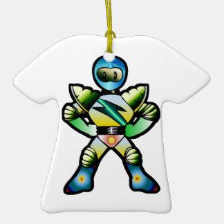 Superhero Duke Quantum T-Shirt Ornament