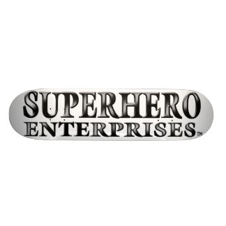 SUPERHERO ENTERPRISES Skate Skateboard Deck