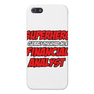 Superhero .. Financial Analyst iPhone 5 Covers