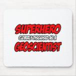 Superhero .. Geoscientist Mouse Pad