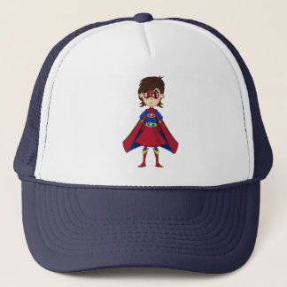 Superhero Girl Baseball Cap
