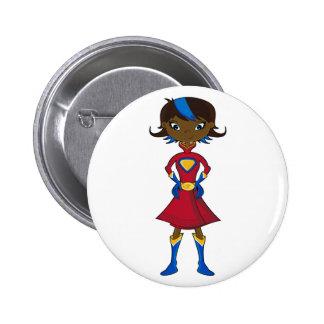 Superhero Girl Pin