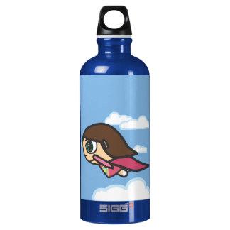 Superhero Girl Liberty Water Bottle