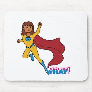Superhero Girl Mouse Pad