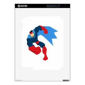 Superhero in Action iPad 2 Skin