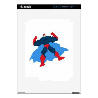 Superhero in Action iPad 3 Decal