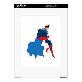 Superhero in Action Skin For iPad
