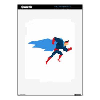 Superhero in Action Skin For iPad 2