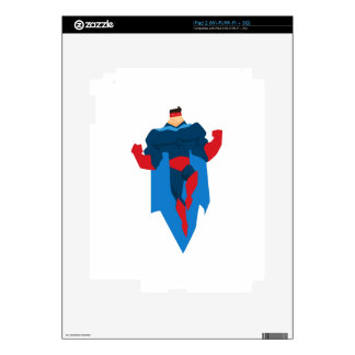 Superhero in Action Skins For The iPad 2
