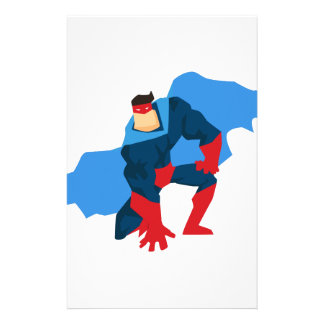 Superhero in Action Stationery