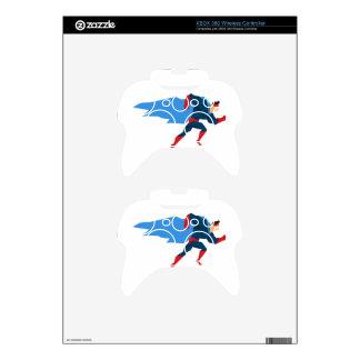 Superhero in Action Xbox 360 Controller Skins
