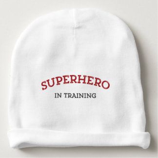 SUPERHERO in TRAINING Knit Baby Hat