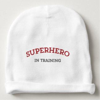 SUPERHERO in TRAINING Knit Baby Hat