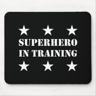 Superhero In Training Mouse Pad
