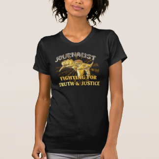 Superhero Journalist (no Microphone) T-Shirt
