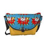 Superhero Kapow Cow Messenger Bag