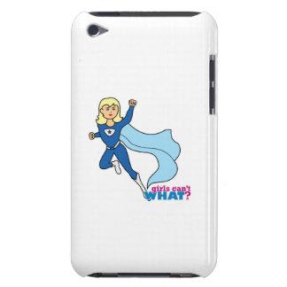 Superhero - Light/Blonde iPod Touch Case