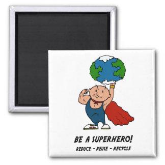 superhero refrigerator magnet
