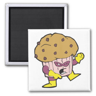 superhero muffin man character magnets