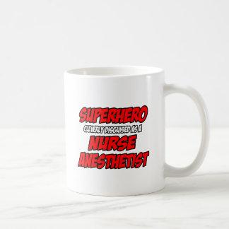 Superhero...Nurse Anesthetist Classic White Coffee Mug