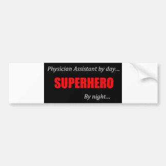 Superhero Physician Assistant Bumper Stickers