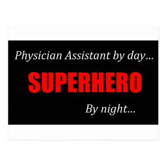 Superhero Physician Assistant Postcard