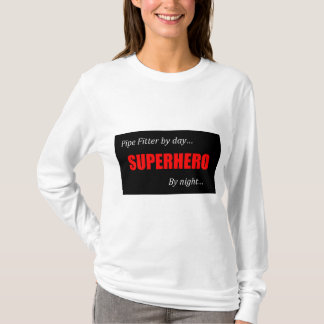 Superhero Pipe Fitter T-Shirt